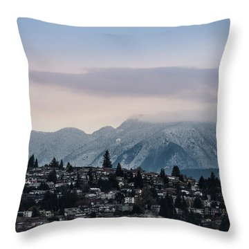 Seymour Winterscape Throw Pillow