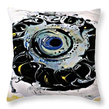 Sgc.m87  Throw Pillow