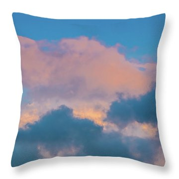 Shades Of Clouds Throw Pillow