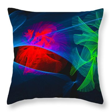 Shapes And Colours #i1 Throw Pillow