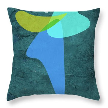 Shapes IIi Throw Pillow