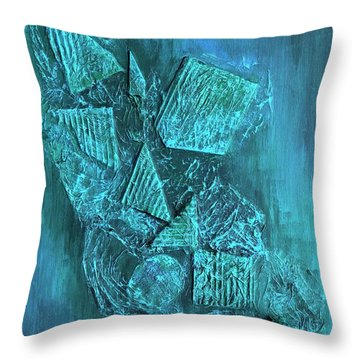 Shapescape Throw Pillow