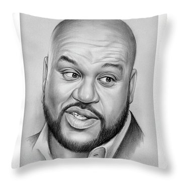 Shaq Throw Pillow