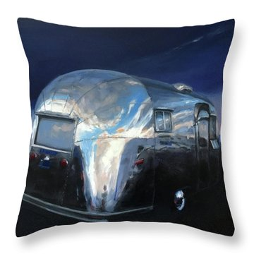 Shelter From The Approaching Storm Throw Pillow