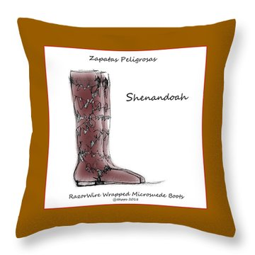 Shenandoah Throw Pillow