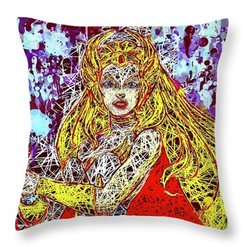 She - Ra Throw Pillow