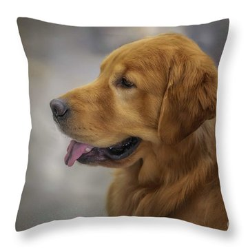 She's A Champ Throw Pillow