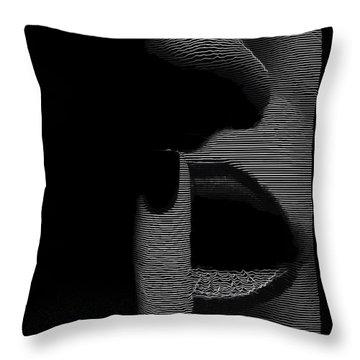 Shhh Throw Pillow