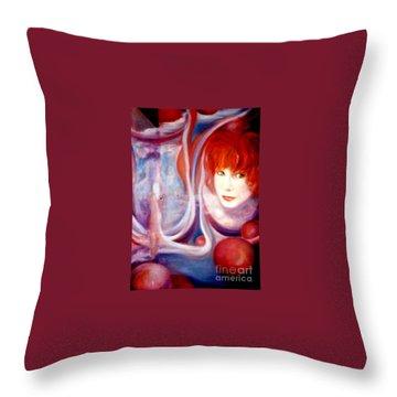 Shirley Incarnate Throw Pillow