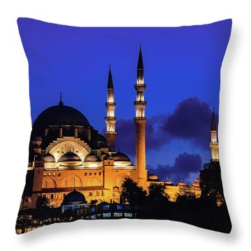 Throw Pillow featuring the photograph Shophia by Francisco Gomez