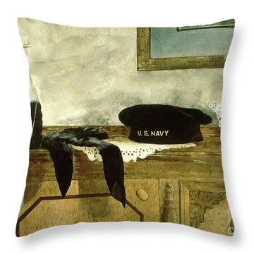 Shore Leave Throw Pillow