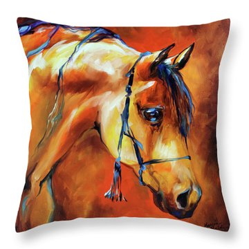 Showtime Arabian Throw Pillow