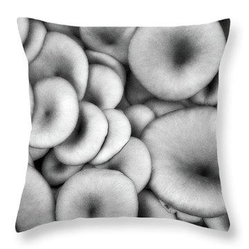 Shrooms Throw Pillow