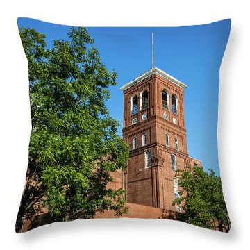 Sibley Mill Augusta Ga Throw Pillow