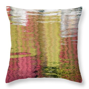 Siding Salesman Throw Pillow