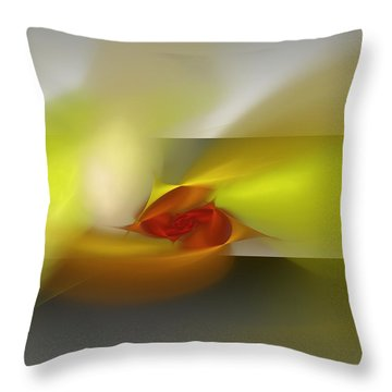 Signals Through The Flames Throw Pillow