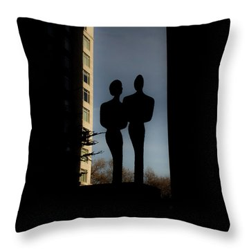 Sihlouette Throw Pillow