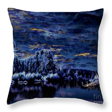 Silent Moments Throw Pillow