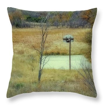 Silent Sounds From Long Ago Throw Pillow