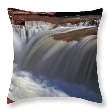Silken Flow Throw Pillow