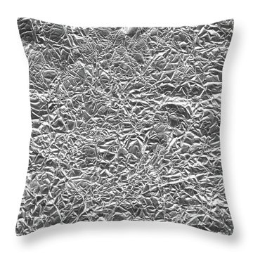 Throw Pillow featuring the photograph Silver Gift  by Top Wallpapers