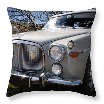 Silver Rover P5b 3.5 Ltr Throw Pillow