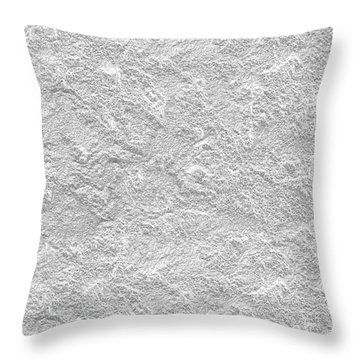 Throw Pillow featuring the photograph Silver Stone by Top Wallpapers