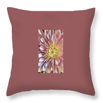 Simply Pink Throw Pillow