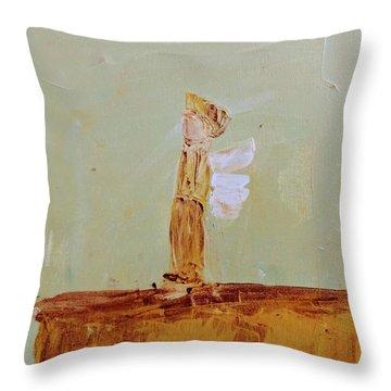 Simply Sweet Angel Boy Throw Pillow