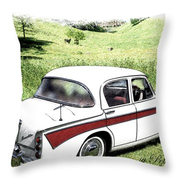 Singer Gazelle Throw Pillow