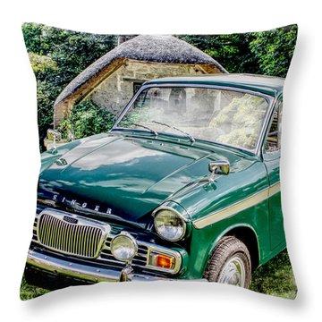 Singer Gazelle Vi Throw Pillow
