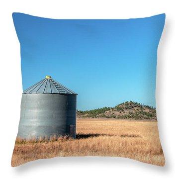 Single Bin Throw Pillow