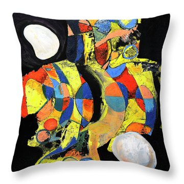 Sir Future Throw Pillow