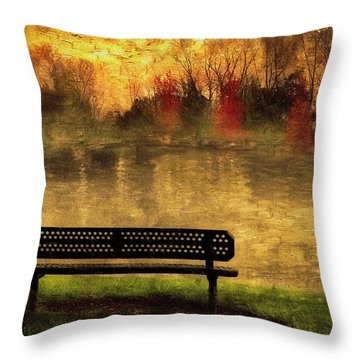 Sit And Admire Throw Pillow