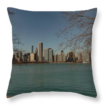 Sitting On A Summer Day Throw Pillow