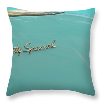 Sixty Special Throw Pillow