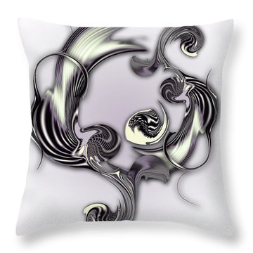 Sketch Of Inverse Poetry Throw Pillow