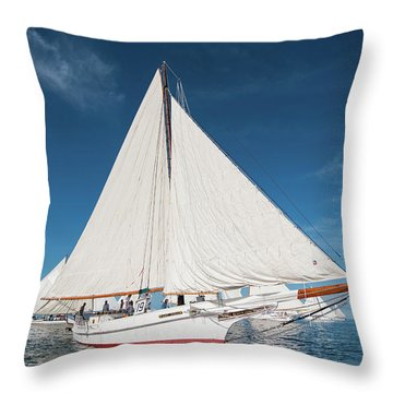 Skipjack Rosie Parks Throw Pillow