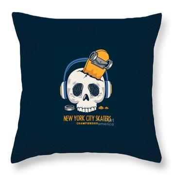 Skateboard Throw Pillows