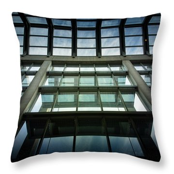 Throw Pillow featuring the photograph Sky At The National Gallery Of Canada by Juan Contreras