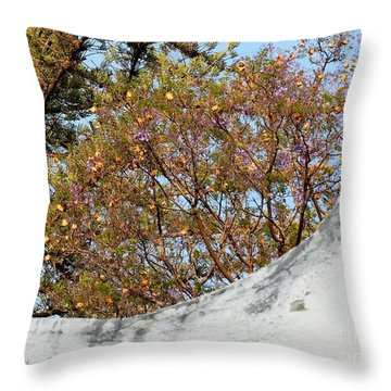 Throw Pillow featuring the photograph Sky Bouquet by Rosanne Licciardi