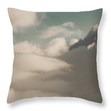 Sky One Throw Pillow