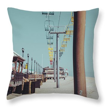 Throw Pillow featuring the photograph Sky Ride by Steve Stanger