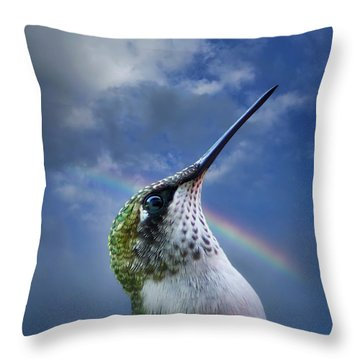 Sky Trooper Throw Pillow
