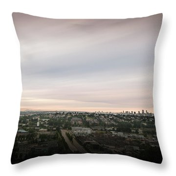 Sky View Throw Pillow
