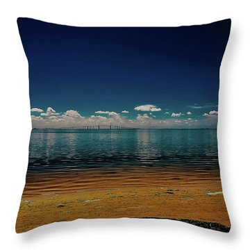Sky Way Throw Pillow