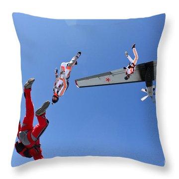 Drill Throw Pillows