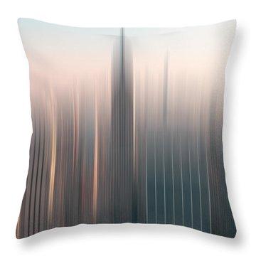 skyline I Throw Pillow