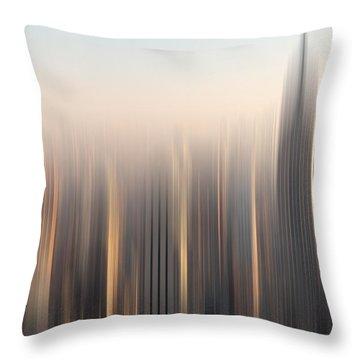 skyline II Throw Pillow