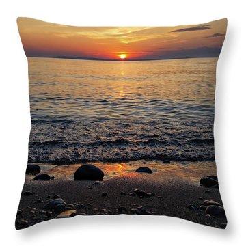 Sleeping Bear Bay 1 Throw Pillow